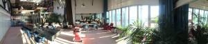 panorama ochtendlicht Roze Studio